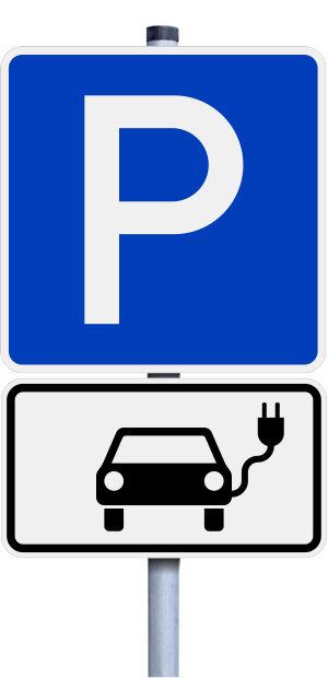 Bildergebnis für beschilderung parken elektroautos